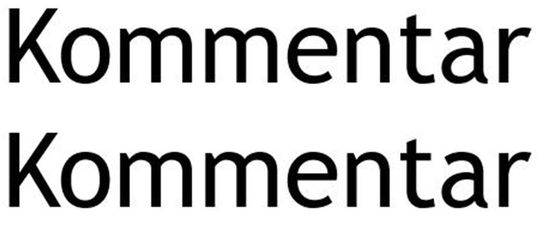 EINWURF – EIN KOMMENTAR